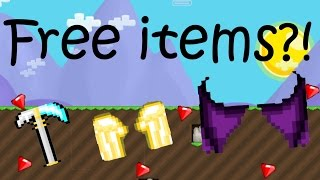 Free items in Growtopia?!