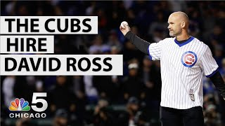 What Does the David Ross Hire Mean for the Cubs? | NBC Chicago