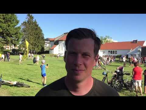 Jesper Mathisen om sykkelfesten i Kristiansand
