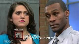 Hidden Cameras Catch An Abusive Husband: Part 2 (The Steve Wilkos Show)