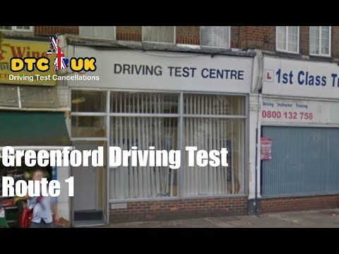 Greenford Driving Test Route 1 | DTC-UK | Driving Test UK
