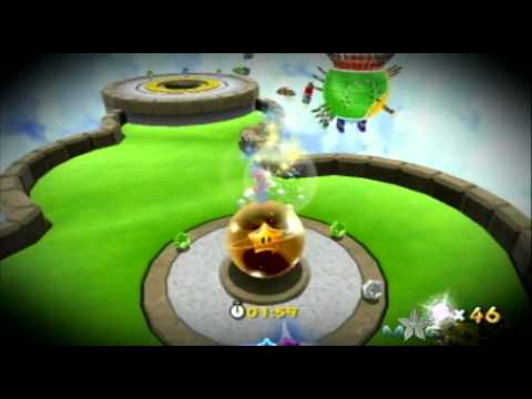 Super Mario Galaxy 2 Walkthrough - Masterpiece Speed Run - Star 49