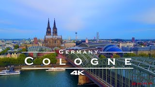 Cologne / Köln, Germany - by drone [4K]