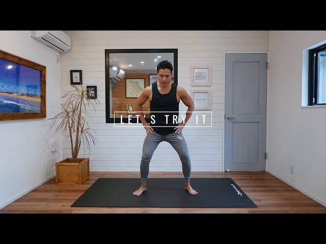 【脂肪を落とす】1日3分!痩せるスクワット(BPMトレーニング)