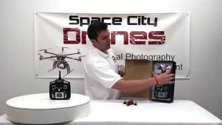 jxd 392 drone demonstration and instruction space city drones