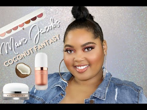 Marc Jacobs Coconut Fantasy Collection Review + Tutorial