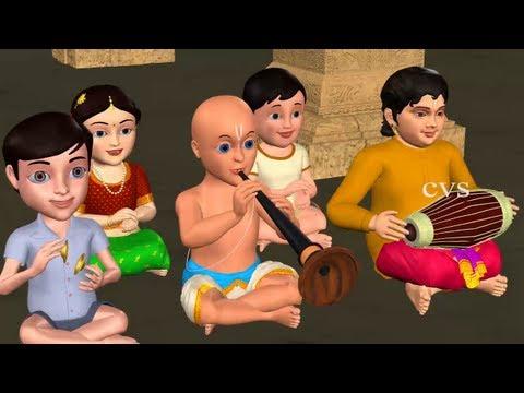 Tappetloy Talaloyi3D Animation Telugu Rhymes with Lyrics for childrens