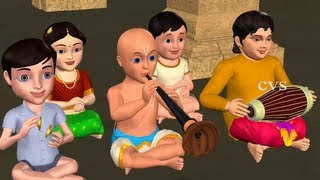 Tappetloy Talaloyi  3D Animation Telugu Rhymes with Lyrics for childrens