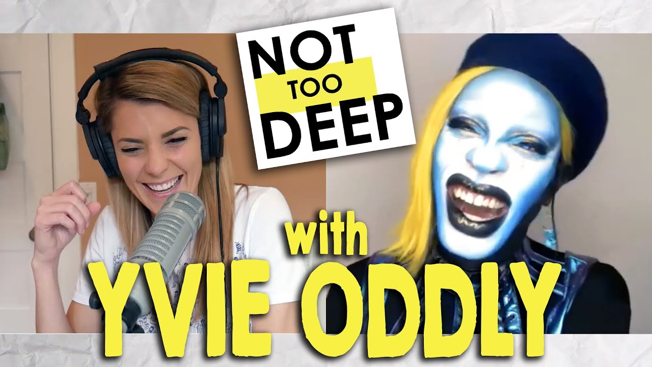 YVIE ODDLY on #NotTooDeep // Grace Helbig
