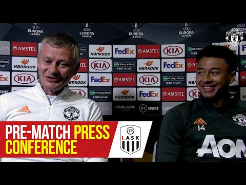 Pre-Match Press Conference | Manchester United v LASK | UEFA Europa League