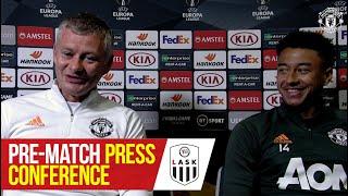Pre-Match Press Conference | Manchester United v LASK | UEFA Europa League