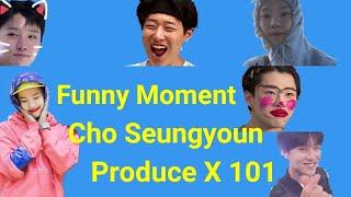 Download lagu Produce X 101 – Funny Moment Cho Seungyoun (조승연) - Luizy - Woodz