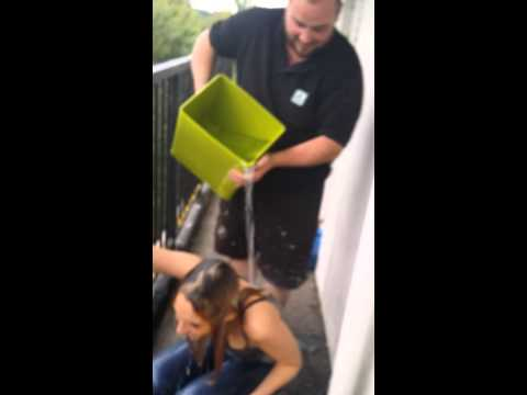 Ice bucket challenge- Manchester United Kindom