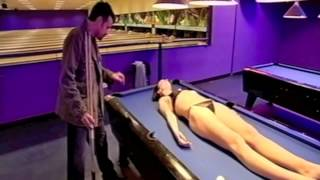 Hypnotised Girl Strips. Pool Table Sunbed- Peter Powers-Top Television & Stage Hypnotist Show on TV