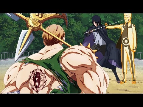 Эсканор попал в мир Боруто и сразился с Наруто и Саске ӏ Альтернативный сюжет #1