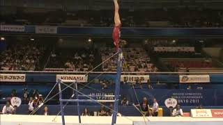 McKayla Maroney (USA) Uneven Bars Team Qualifcation 2011 Tokyo World Championships