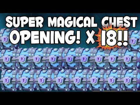 Clash Royale - MONSTER SUPER MAGICAL CHEST...