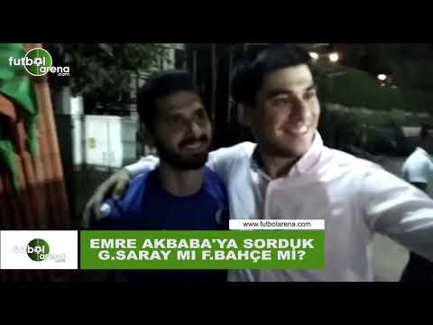 Emre Akbaba'ya sorduk; Galatasaray mı, Fenerbahçe mi?