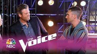 The Voice 2017 - Adam and Blake Make a Bet (Digital Exclusive)