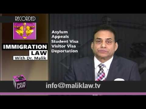 Immigration Law with Dr Malik 27th Jan 2017