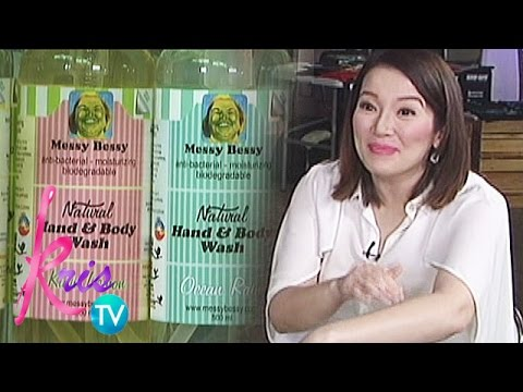 Kris TV: Kris enjoys trying organic product