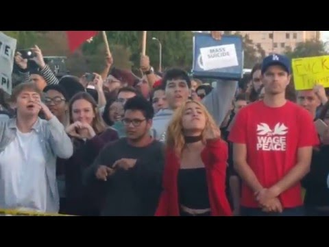 Trump Rally Protest Shenanigans - Costa Mesa, Orange County, CA