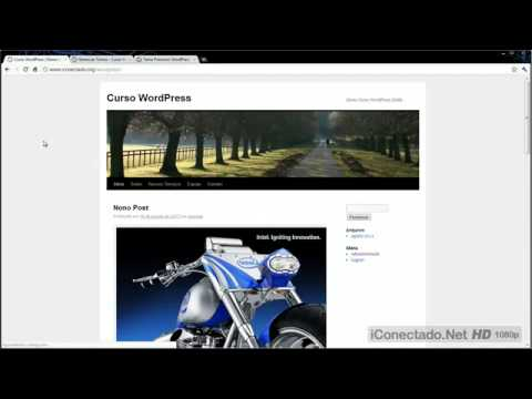 Curso WordPress Aula 16 - Como Instalar Temas - YouTube - YouTube