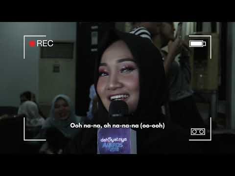 MAKEUP KARAOKE WITH FATIN SHIDQIA | DAHSYATNYA AWARDS 2018