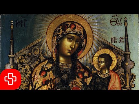 Greek Byzantine orthodox chant: Agni Parthene/ Αγνή Παρθένε (Lyric Video)