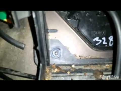 How To Change Fan Heater Blower Opel Vectra B Byte Fläkt
