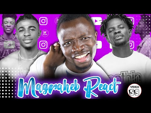 Magraheb Reacts to Frank Naro & Fameye 'Do Me' Music Video 😍