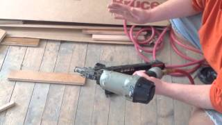 Porter cable pnumatic finish nailer
