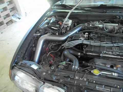Installing A Intake Onto A Acura Integra Da YouTube - Acura integra cold air intake