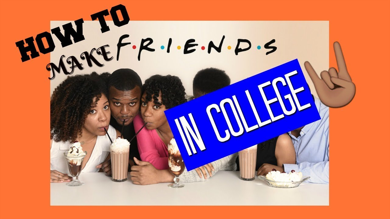 How to Make FRIENDS in College (Introverts) - YouTube