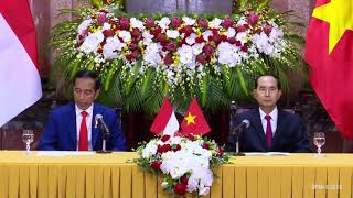 Rangkaian Upacara Penyambutan Kenegaraan  di Vietnam, Hanoi, 11 September 2018