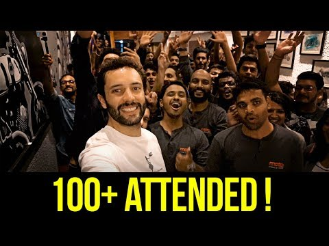 Epic Meet Up in Bangalore India + Art of Motorcycles Ride