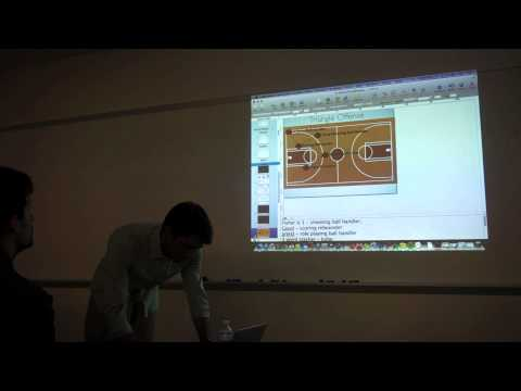 """The New Positions of Basketball"" - Muthu Alagappan @ Ayasdi"