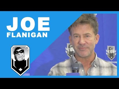 Exclusive with Joe Flanigan!