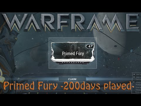 warframe primed fury price