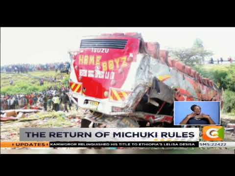 The return of Michuki rules as hundreds of matatus impounded in Nairobi