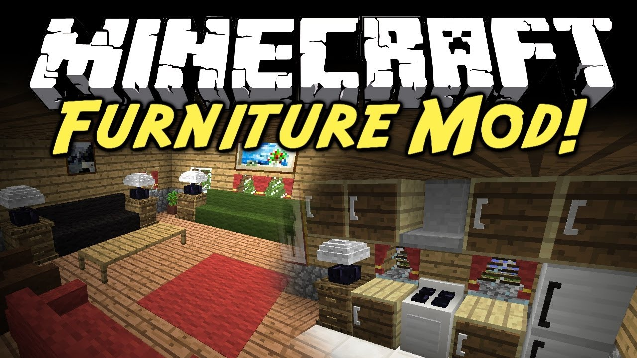 Minecraft Mod Showcase Furniture Mod
