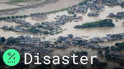 Flooding and Mudslides in Southern Japan Leave at Least 2 Dead and More than a Dozen Missing