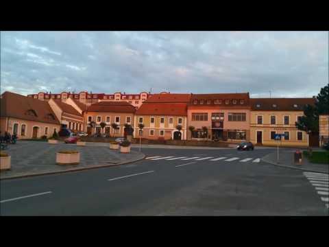 Strážnice, Czech Republic, by motorhome