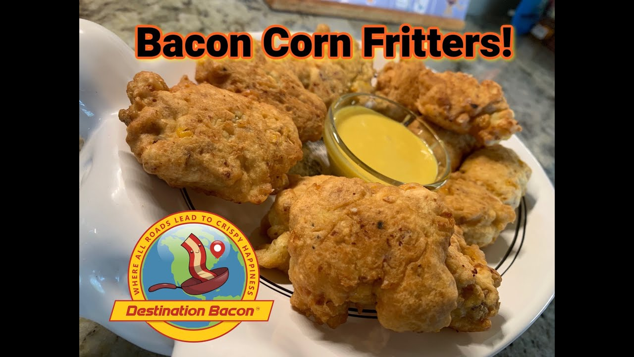 Bacon Corn Fritters