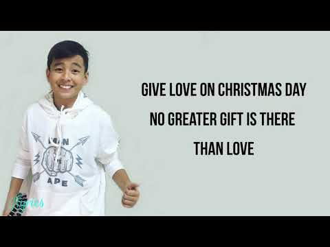 Sam Shoaf - Give Love On Christmas Day (Lyrics)