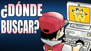 ¿En qué páginas buscar información sobre Pokémon?