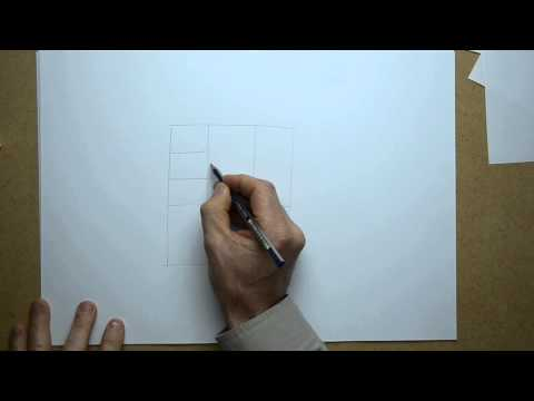 Howto 3d sketch, this example a kitchen cabinet.