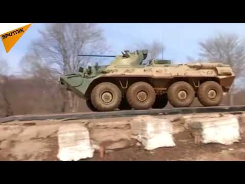 Russia: Marines Try Out New Generation Armored Personnel Carrier