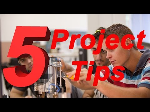 5 Final Year Engineering Project Tips!
