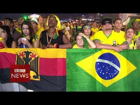 Brazil in shock after World Cup humiliation against Germany - BBC News